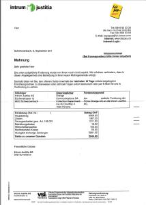 Intrum Justitia_Mahnung_überrissene Forderung_Daten_geschwärzt_25.08.2013